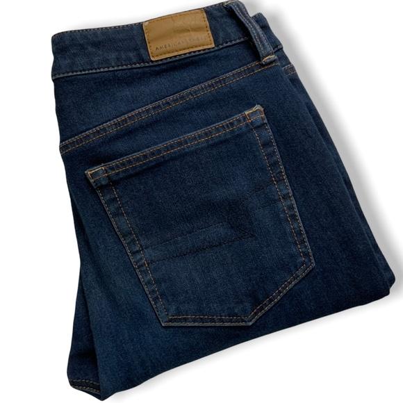 AMERICAN EAGLE Dark Wash Hi-Rise Jegging Jeans US8